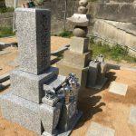 姫路市家島(離島)での墓相型の再整備、お墓の新設