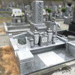 姫路市家島町の墓石の改葬が完成。姫路市西霊苑において