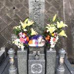 太子メモリアルパークにて、銀杏面加工の素敵な高級和型墓石が完成しました。
